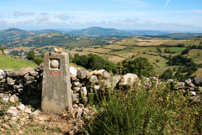 Milestone on Way of St James