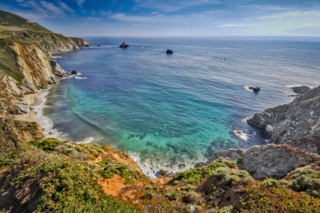 Beautiful Big Sur vista