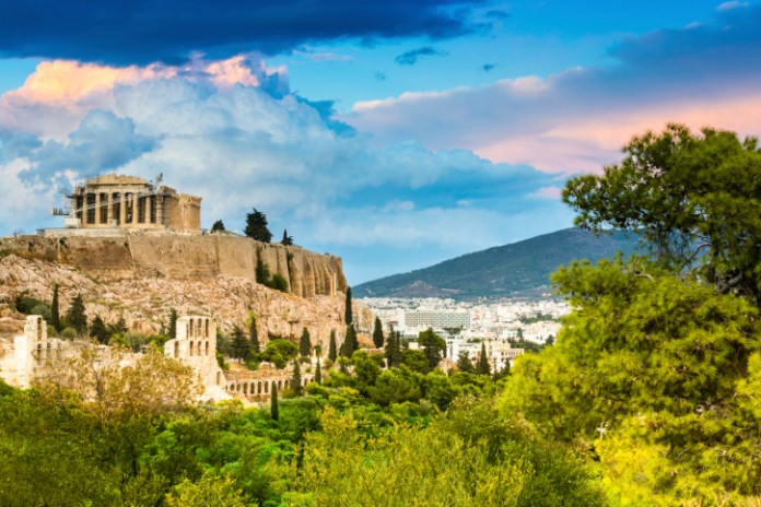 The acropolis , Athens, Greece