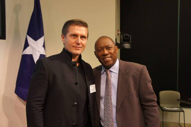 Samir Becic and Sylvester Turner