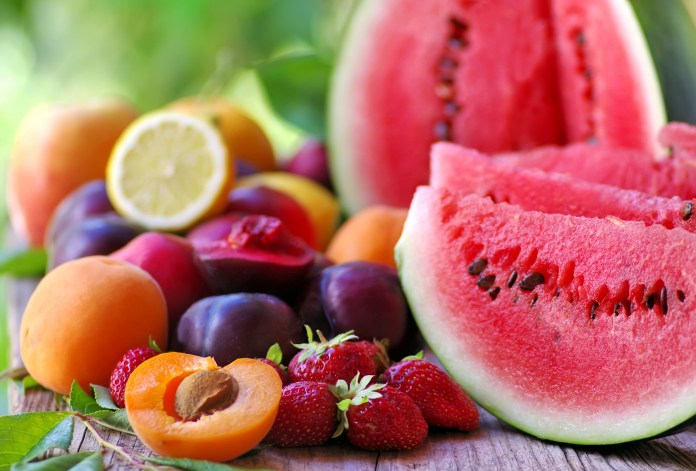 healthiest fruits ranked by calories