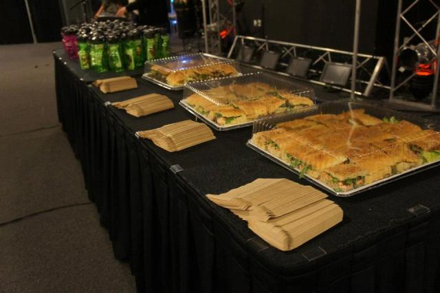 Healthy food at a Lakewood Church event