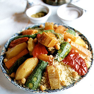 Seven-Vegetable Couscous. Source: Christopher Hirsheimer, Saveur