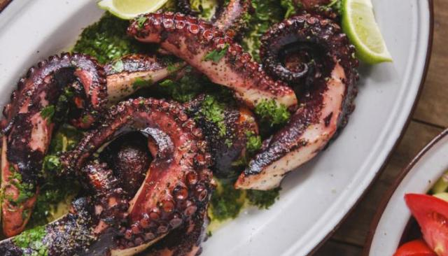 octopus healthy spanish food