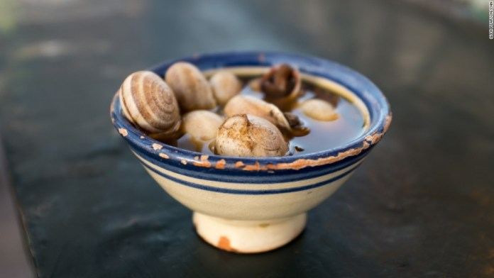 Snail Soup. Source: CNN
