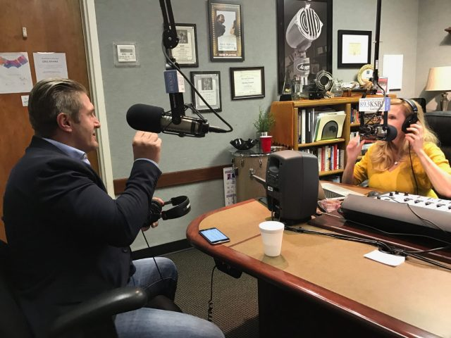 Samir Becic and Kim Wier on KSBJ radio