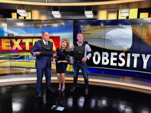 Tom Zikka, Melissa Wilson, and Samir Becic on Fox 26 Houston