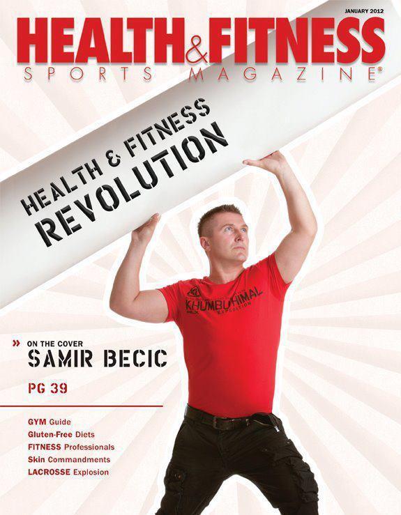 Health & Fitness Sports Magazine cover