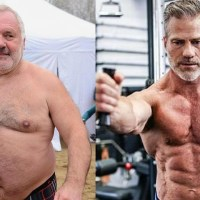 Old Men Over 50's Fitness Body Transformations l Age is Just Numbers