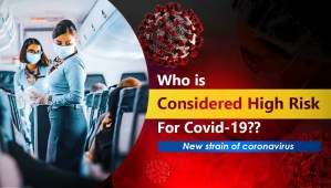 Who is considered high risk for covid-19 New strain of coronavirus