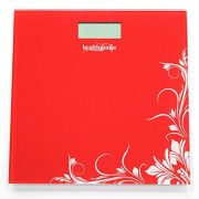 Compare Amp Buy Healthgenie Digital Weighing Scale Red