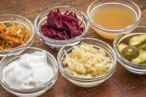 Probiotics and fermented food