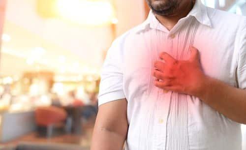 Reduced heartburn