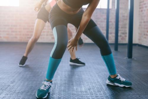 Side skaters - Tabata workout