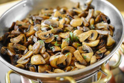 mushrooms - zinc rich foods