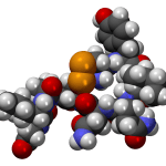 Oxytocin molecule. By MindZiper [CC0], from Wikimedia Commons