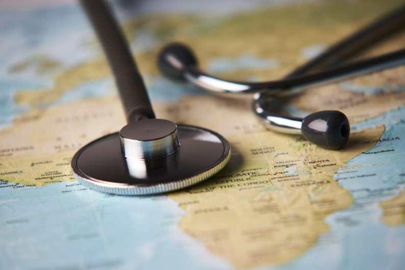 Medical tourism concept. 123rf