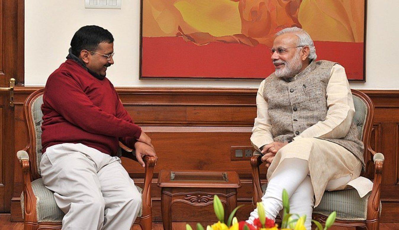 Delhi CM & PM Modi