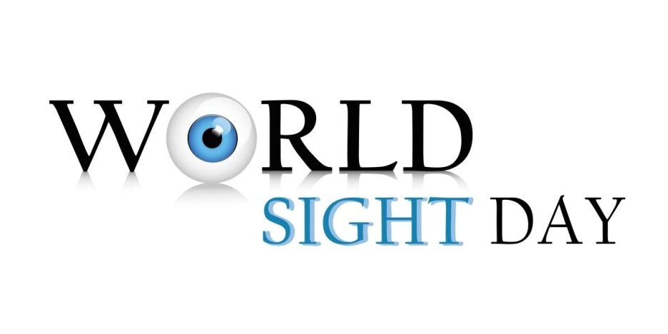 World Sight Day logo.
