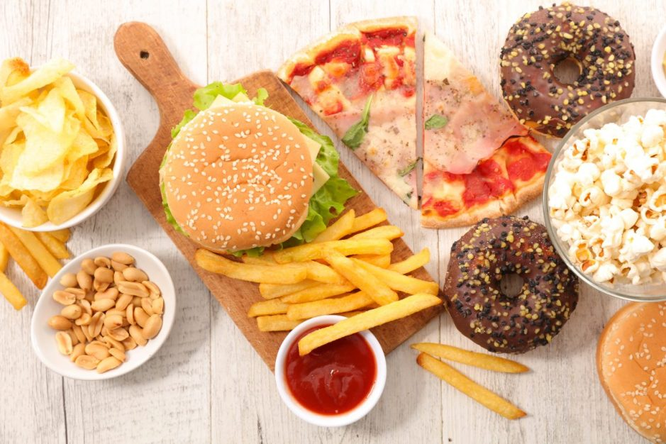 assorted fast food,junk food. 123rf.com