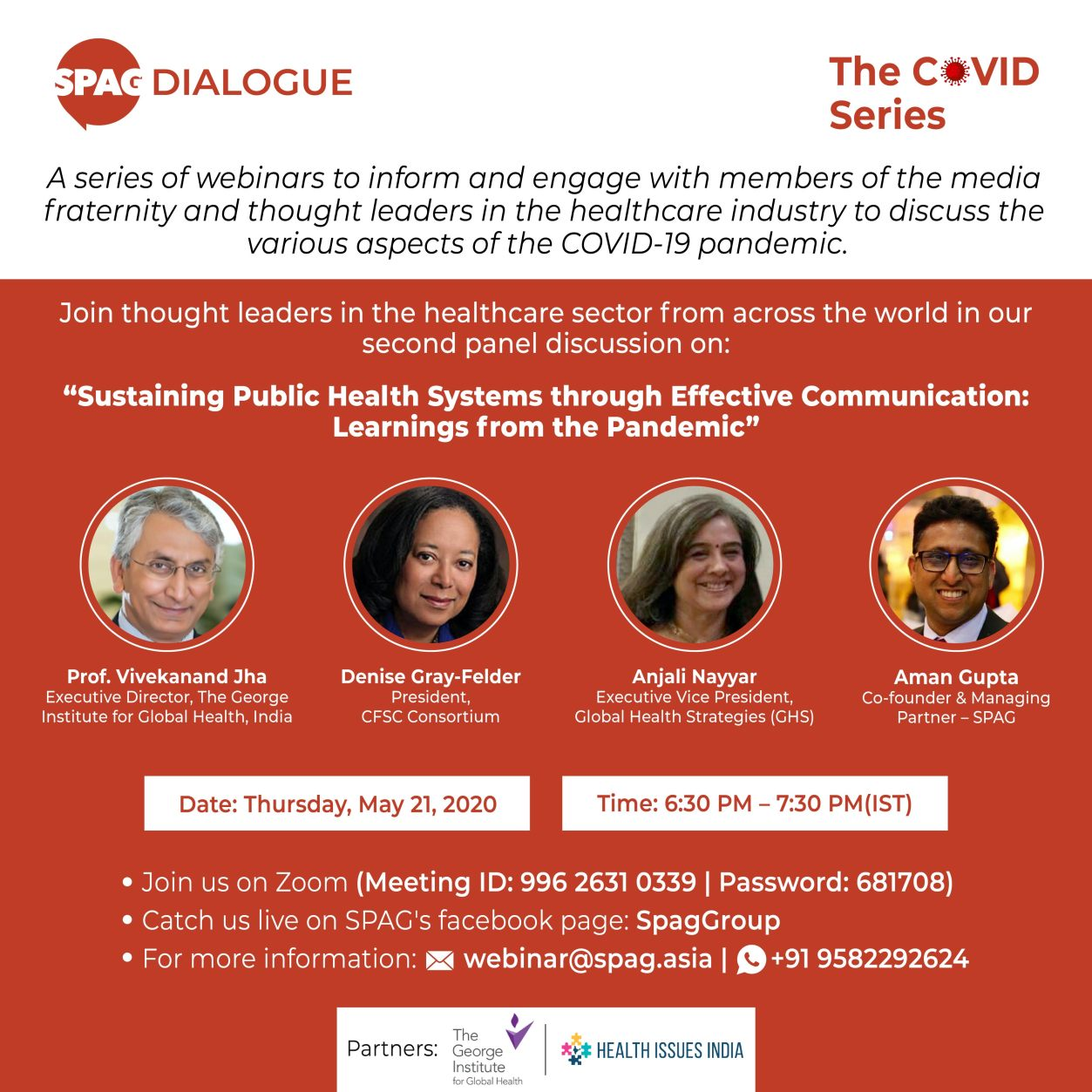 Sustaining Public Health Systems through Communication: Lessons from the pandemic