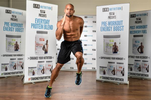 shaun T running food diary holding his protein range by Healthista
