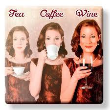 coffee, tea and wine