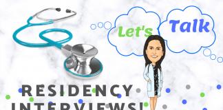 Let's talk Residency Interviews!