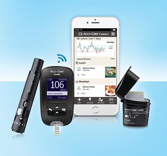 Roches Creative New Accu Chek Guide Glucose Meter