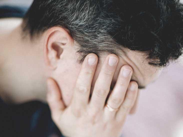 Headache when climaxing