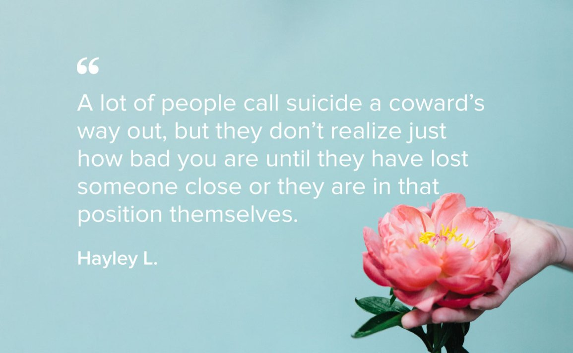 This Is What Suicide Survivors Want You To Know