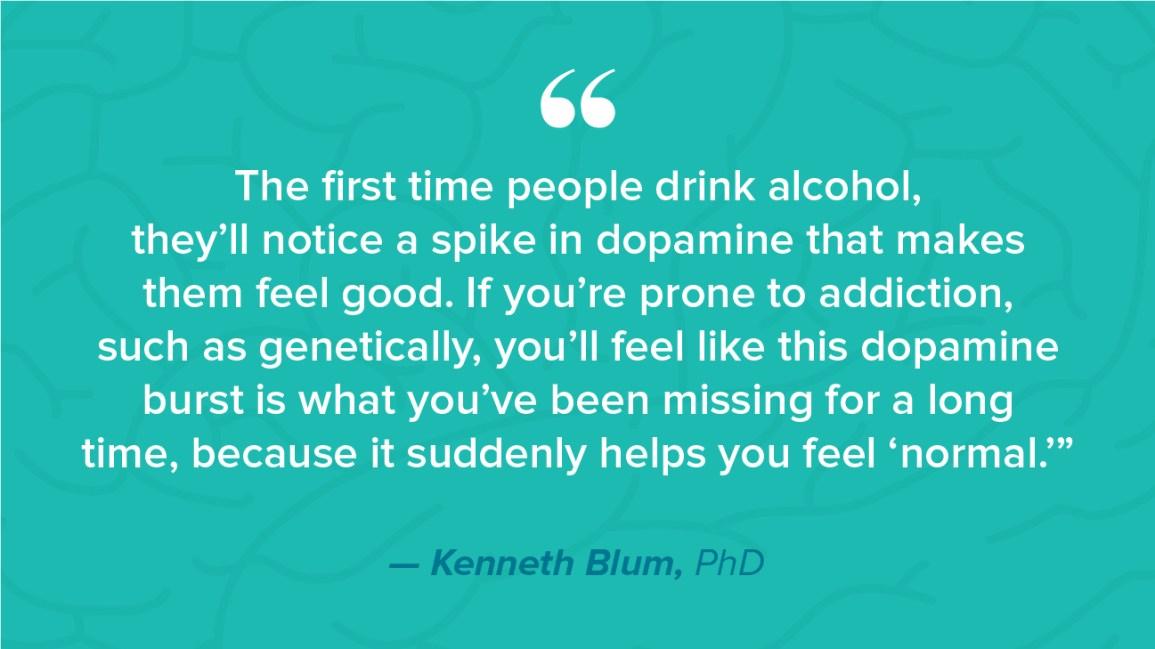 sudden decrease in alcohol tolerance