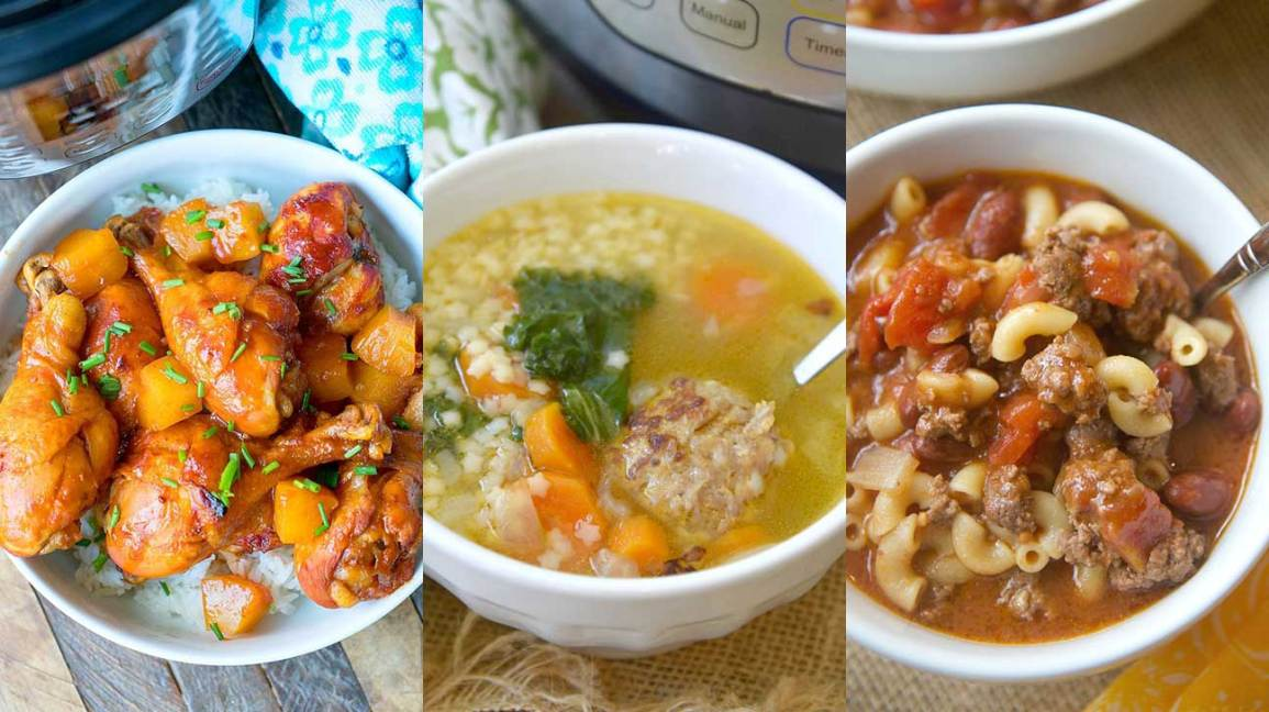 3 Family-Friendly Instant Pot Dinners to Save Time and Sanity