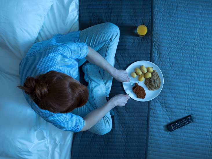 Healthy late night snacks for men
