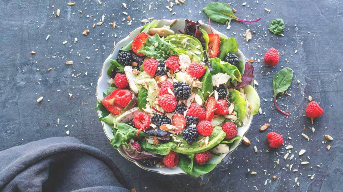 Berry and Almond Salad