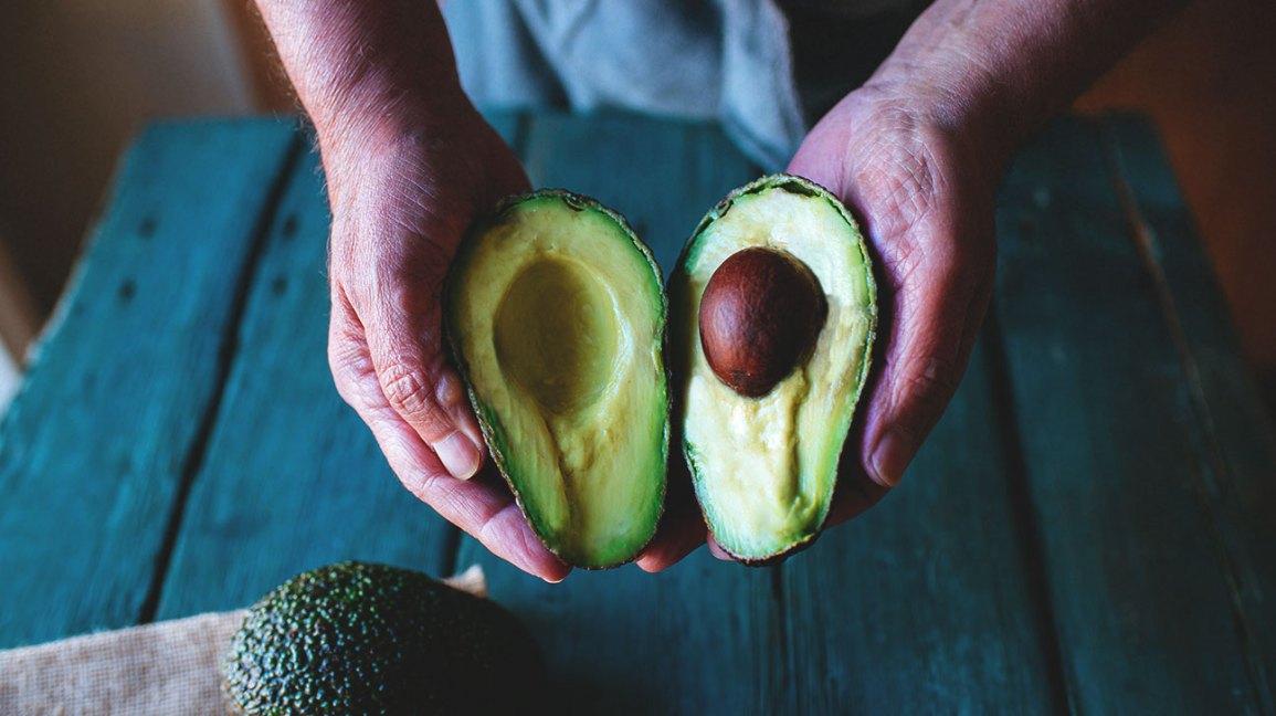 Melhores alimentos para comer antes de beber abacate