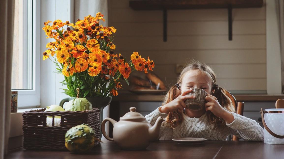 Healthy Drinks for Kids Herbal Teas