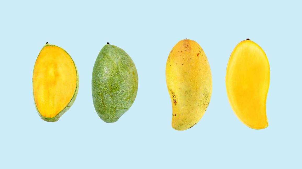 how to eat mango skin