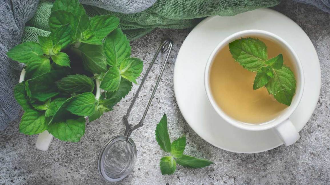 mint leaves benefits for face