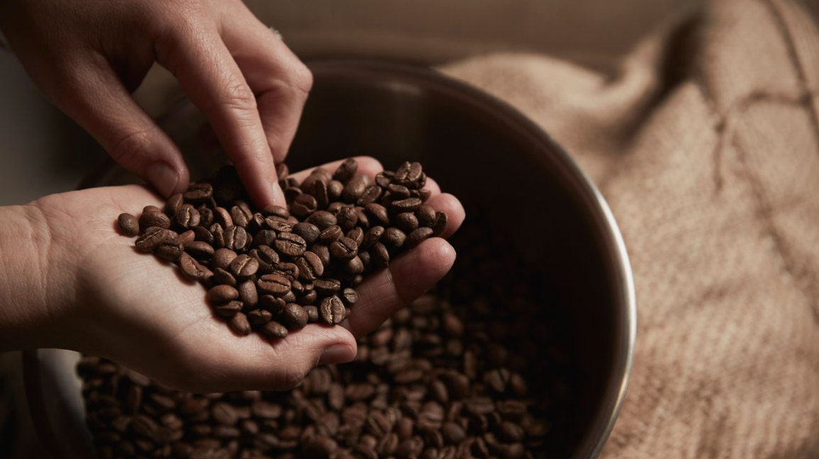 Safe to Eat Coffee Beans