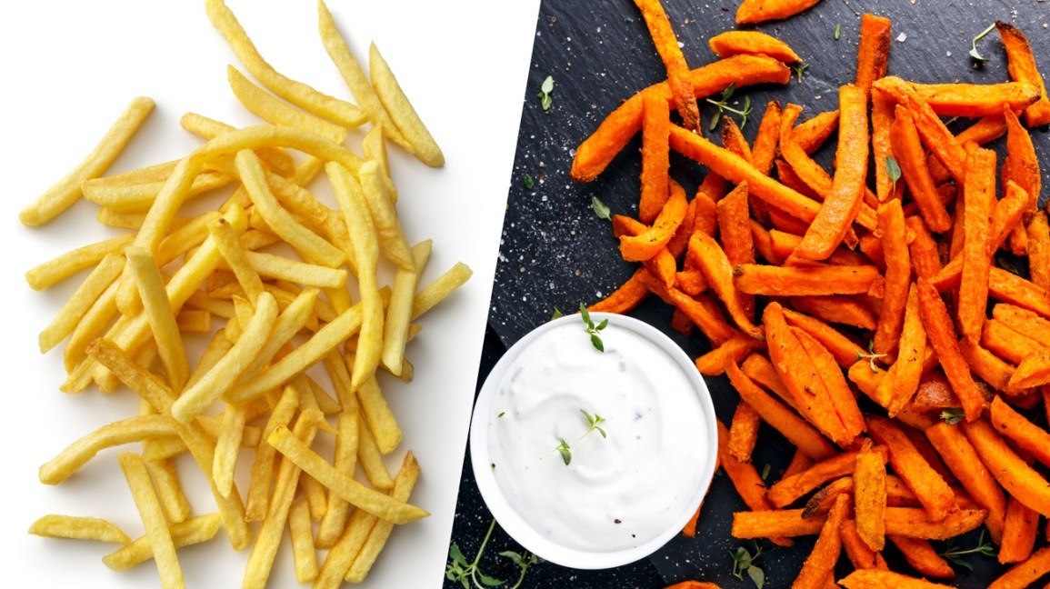 Sweet Potato Fries vs French Fries