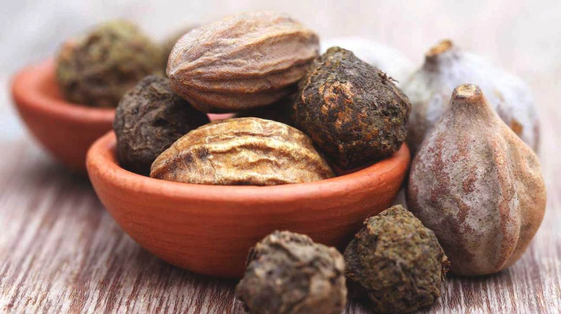 Ayurvedic fruits triphala