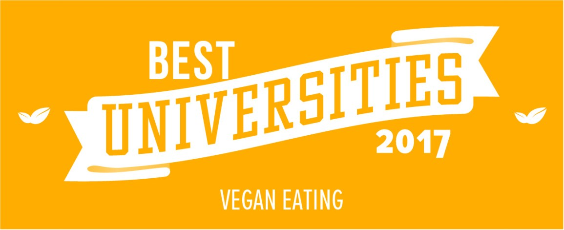 best universities for vegan eating