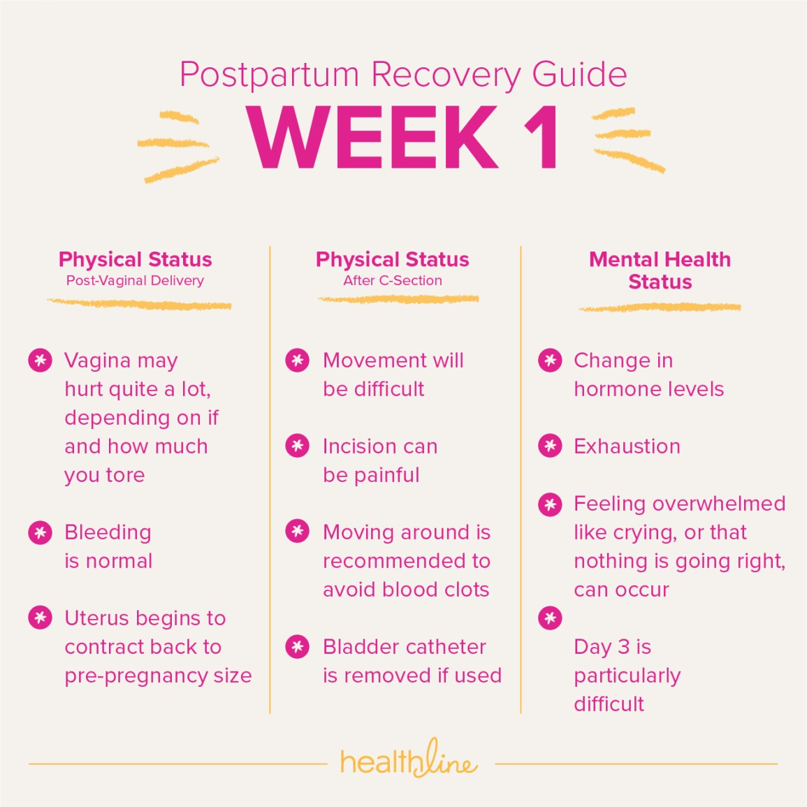 postpartum recovery guide