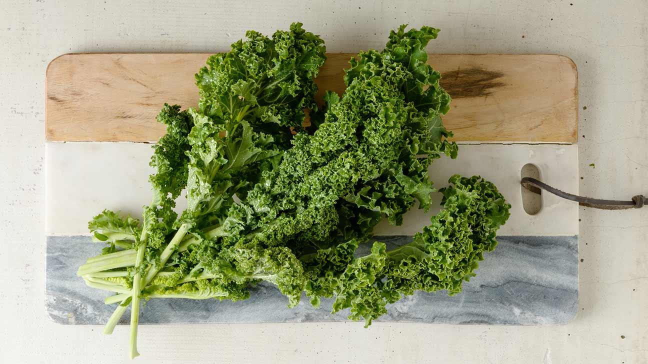 Is kale high in fiber