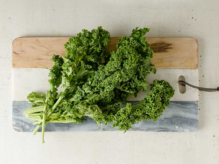 Is kale high in iron