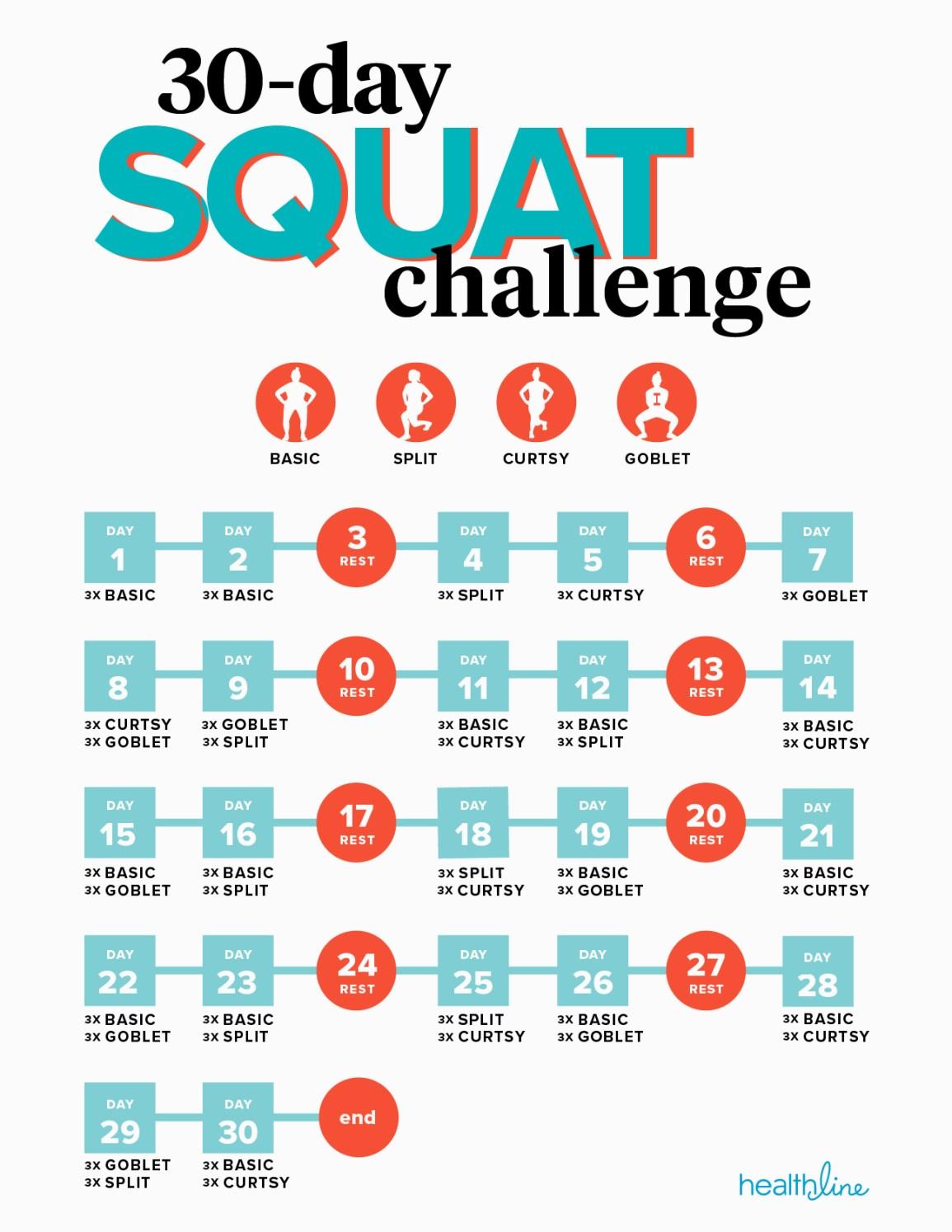 30 day leg challenge for men