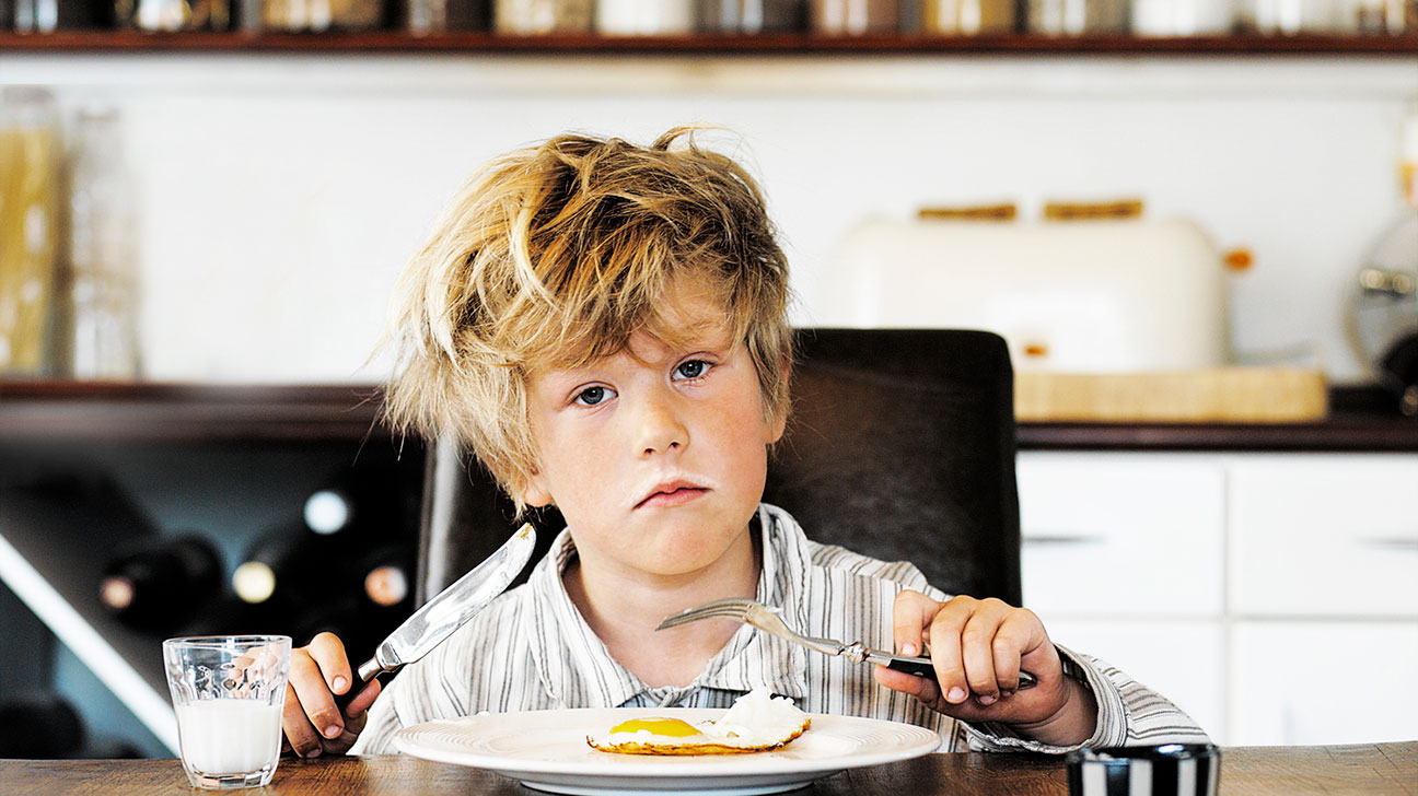 Think, eats like the teen