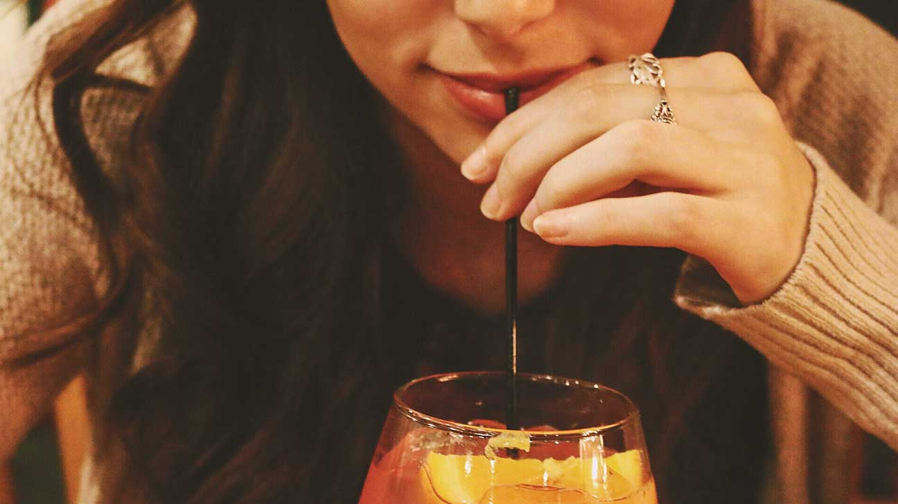 Breast and booze