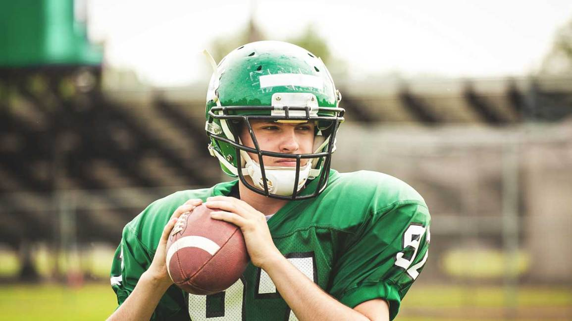 Image result for high school football player